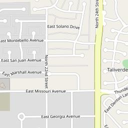 Arizona Biltmore Estates Village Syndicat de copropriété - E Arizona ...
